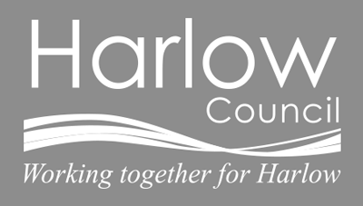 harloiw council grey background