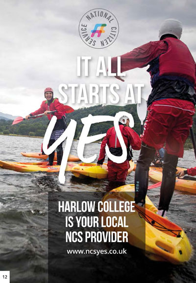 NCS at Harlow College