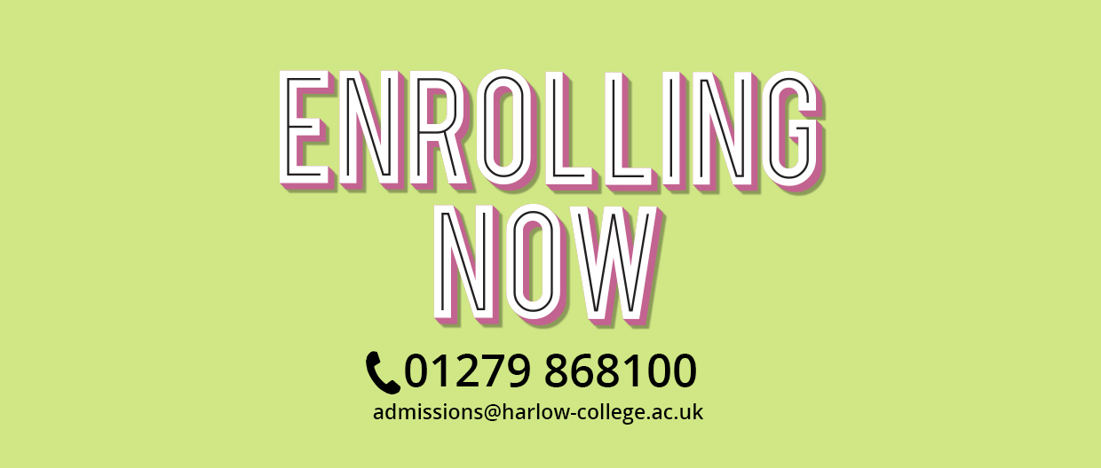 We're Enrolling Now!