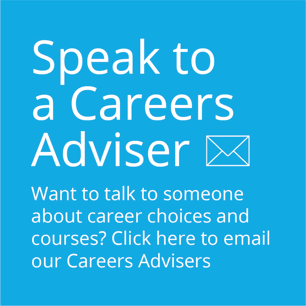 Speak to a Careers Adviser Button