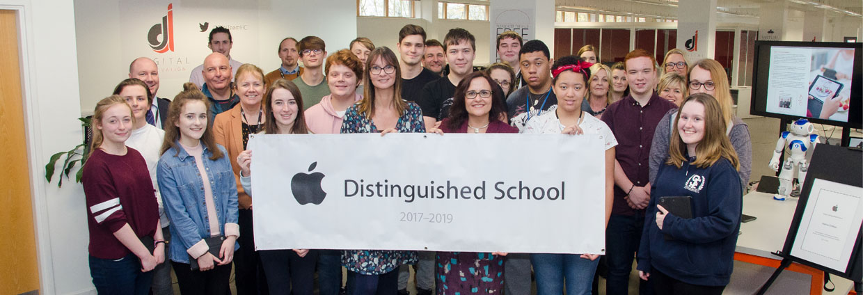 We're an Apple DIstinguished School