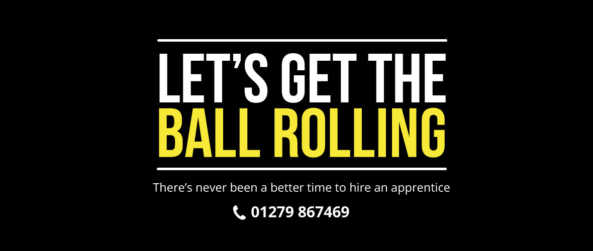 Let's get the ball going – get in touch!