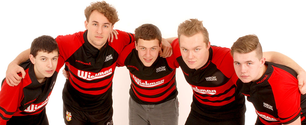 Harlow College Rugby Team