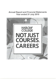 Harlow College Financial Statements 2017 18 thumb