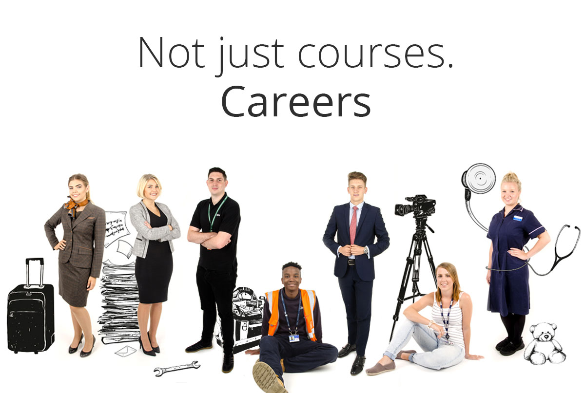Not just courses – careers