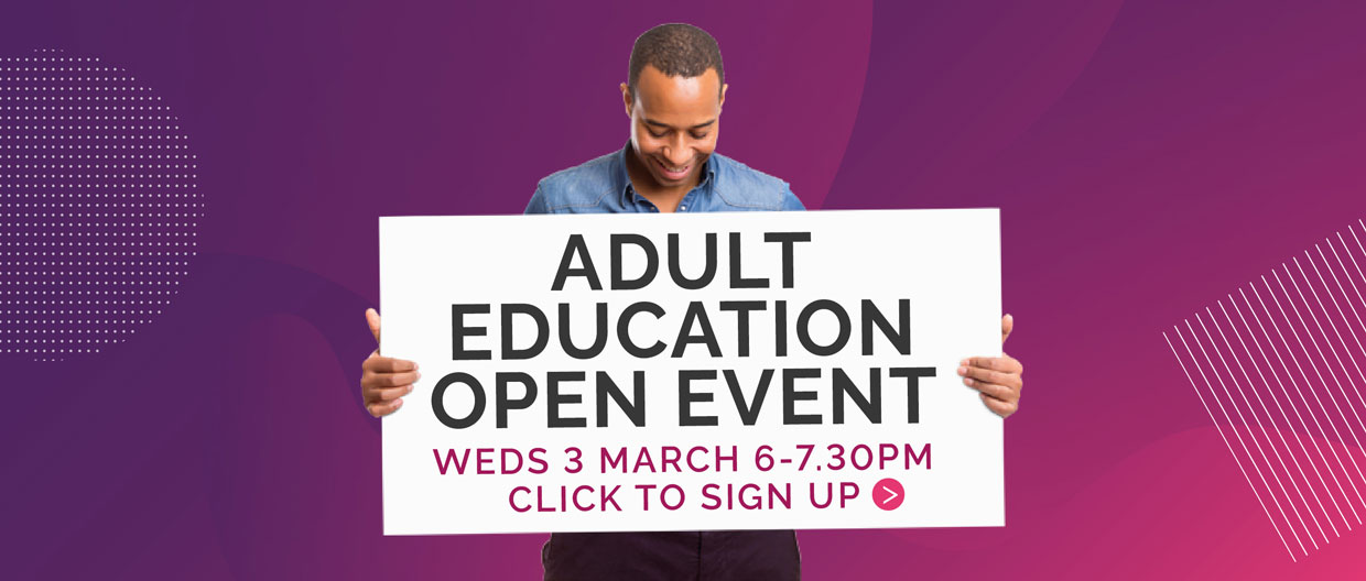 Adult Education Open Event