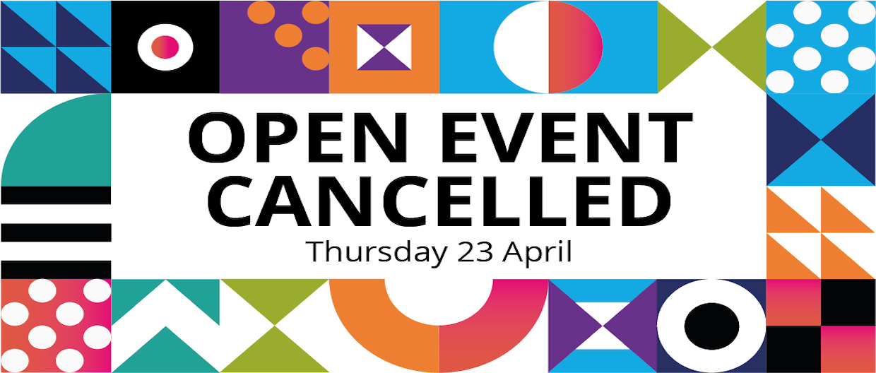 Open Event Cancelled
