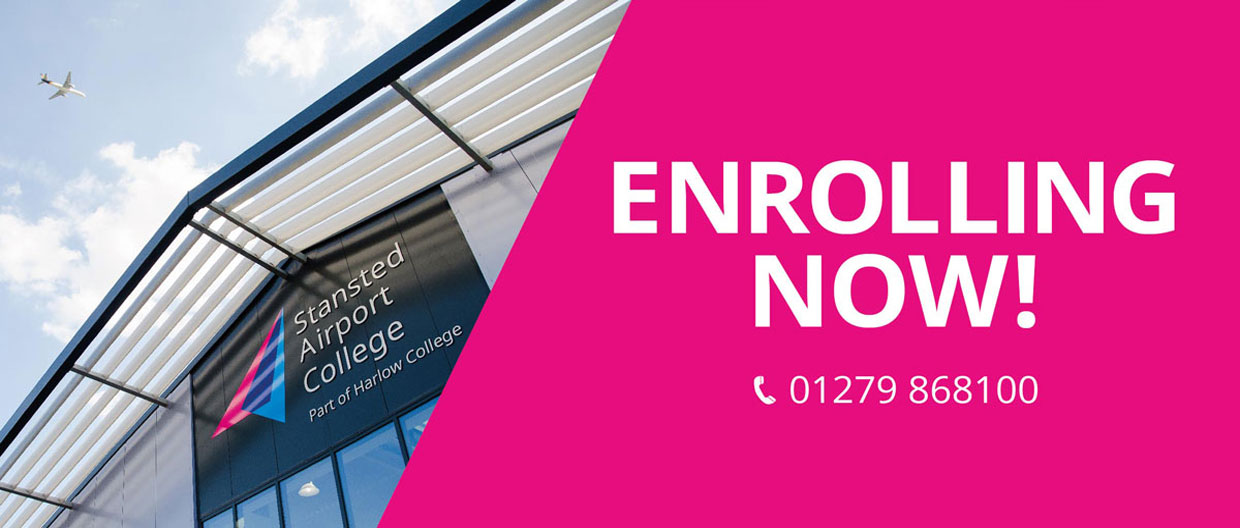 Stansted Airport College Enrolling Now!