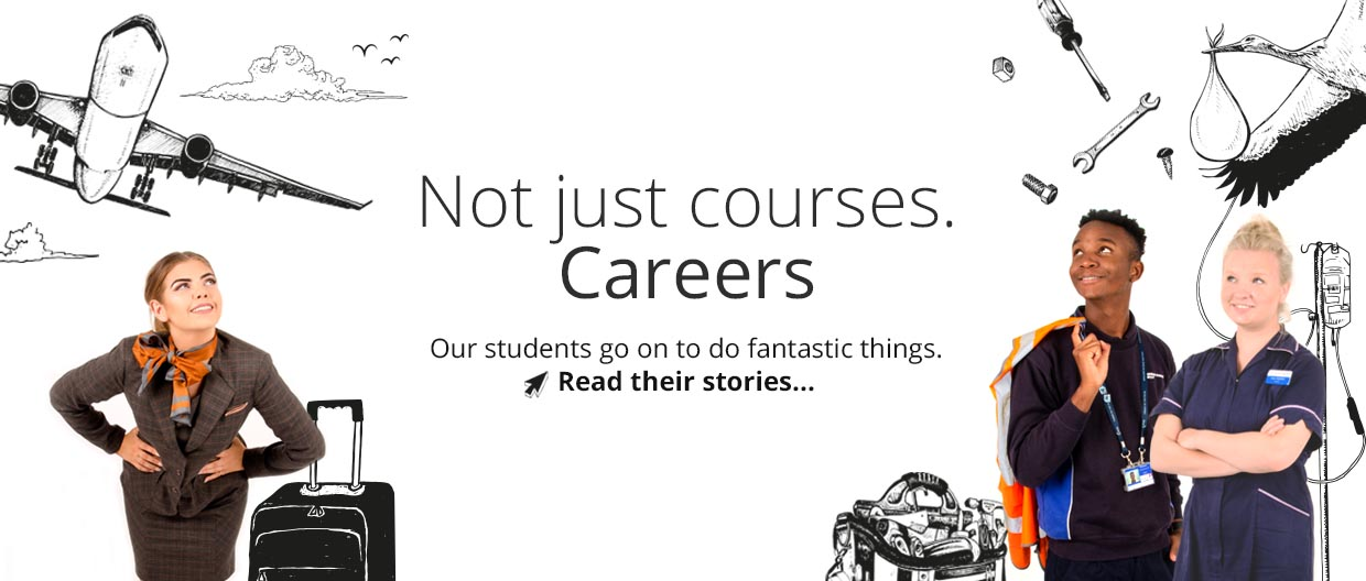 Not hust courses – careers