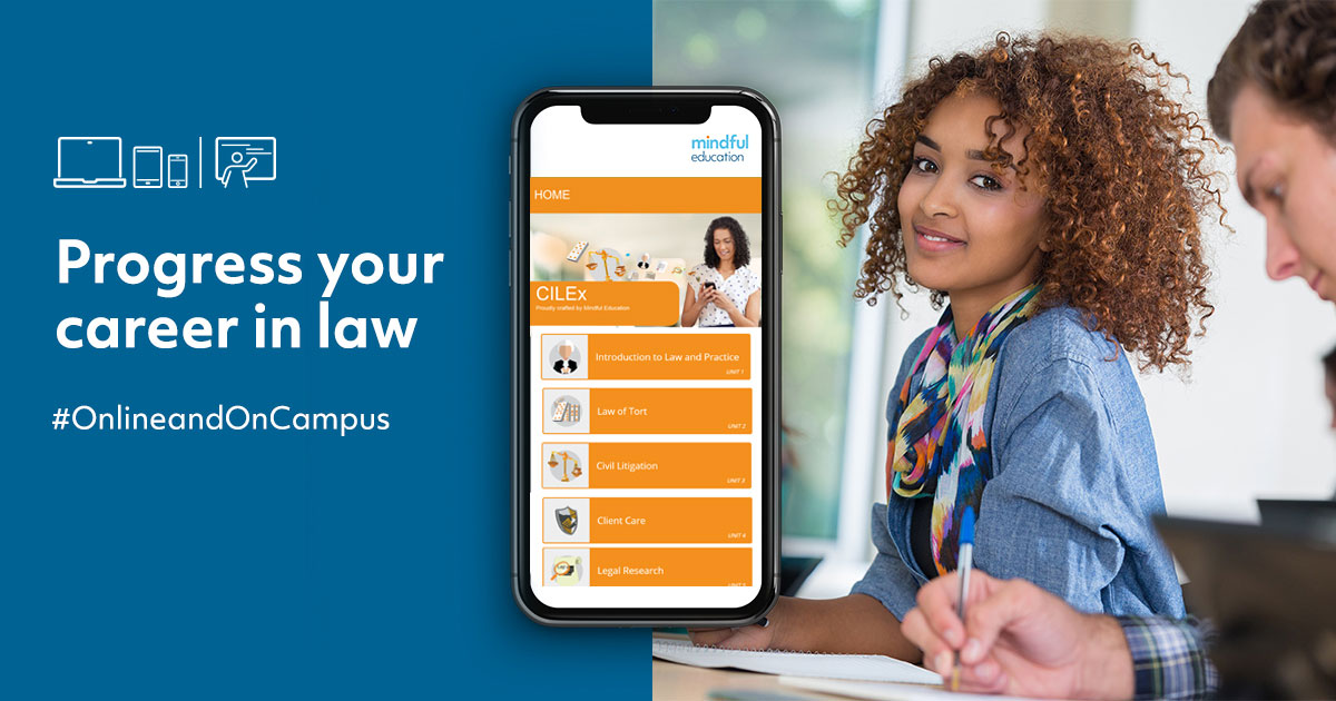 CILEx Level 3 Certificate in Law and Practice (Subject to Validation)